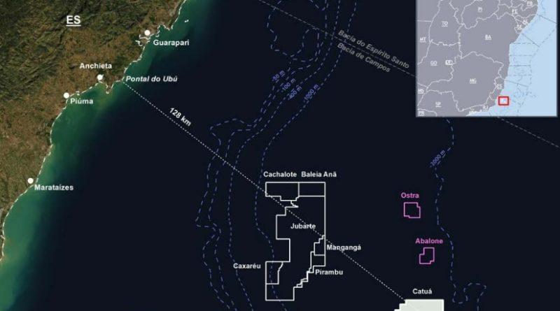 Petrobras vendendo campo em águas profundas no Brasil